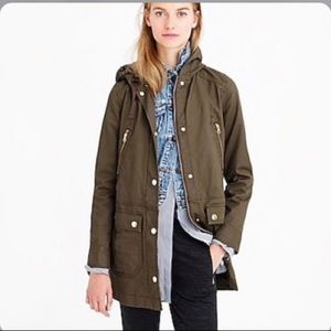 J. Crew xxs Oversized Army Jacket